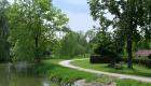 Spaziergang an der schönen Fußlandschaft - Erholung in der Nähe von FFB, Olching