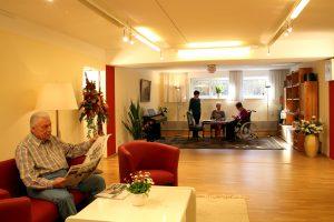 Gemeinschaftsraum für die Senioren und Seniorinnen
