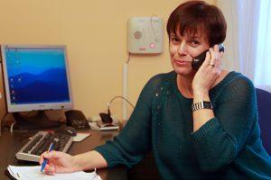 Kontakt zum Betreuten Wohnen - Hausleitung Frau Lochner